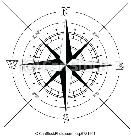 Compass Rose - csp6721501