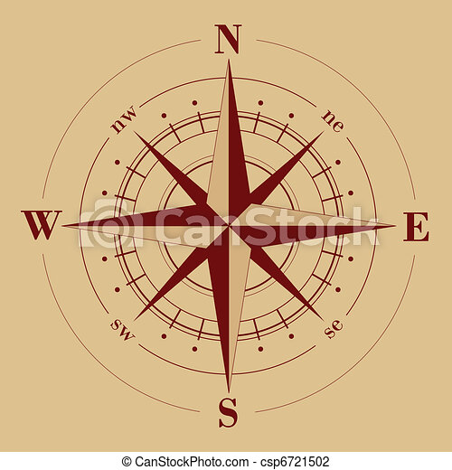 Compass Rose - csp6721502