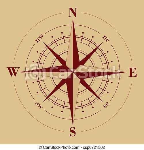 Compass Rose - csp6721502