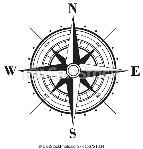 Compass Rose - csp6721834