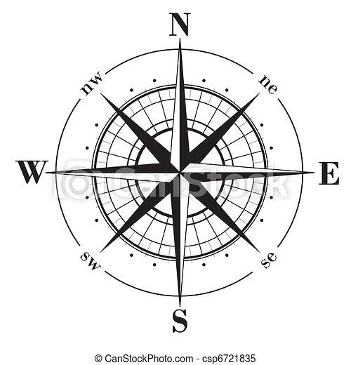 Compass Rose - csp6721835