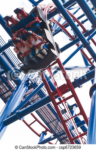 Coaster thrill ride - csp6723659