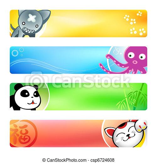 Anime banners | Set 2 - csp6724608
