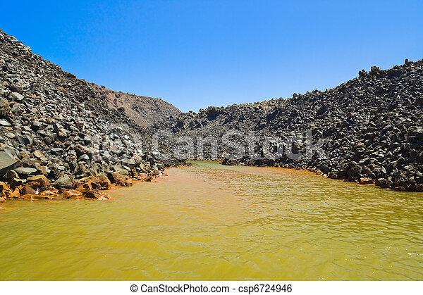 Santorini volcano (Greece) - csp6724946