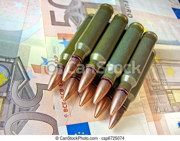 Ammo and money - csp6725074