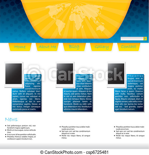 Community website template - csp6725481