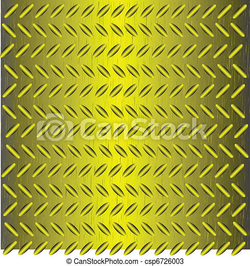 Abstract background as corrugated metal - csp6726003