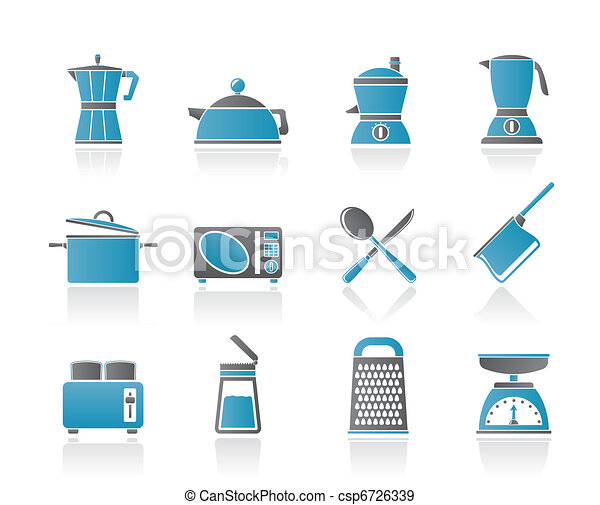 kitchen and household equipment - csp6726339