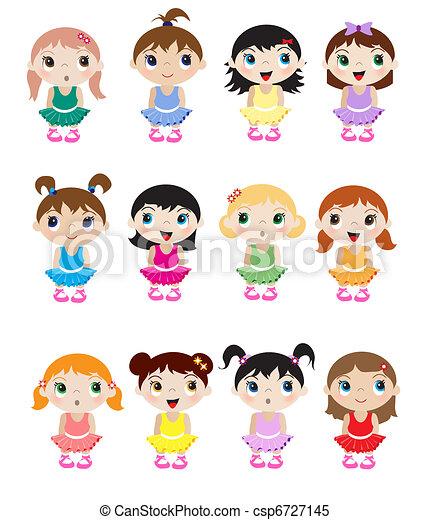 Baby ballerinas - csp6727145