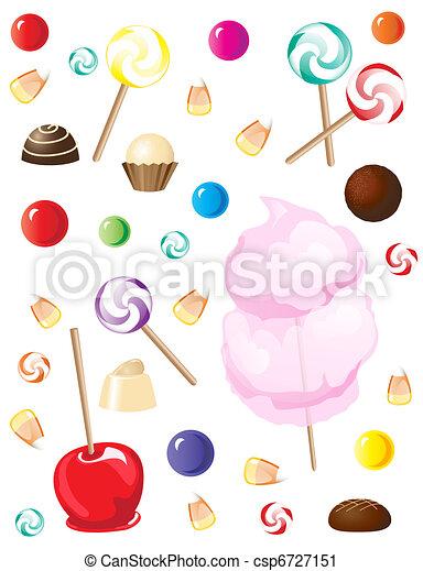 Sweets - csp6727151