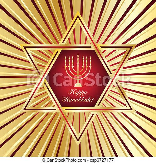 Happy Hanukkah - csp6727177