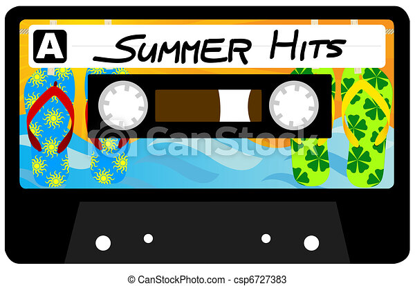 Summer Hits Tape - csp6727383