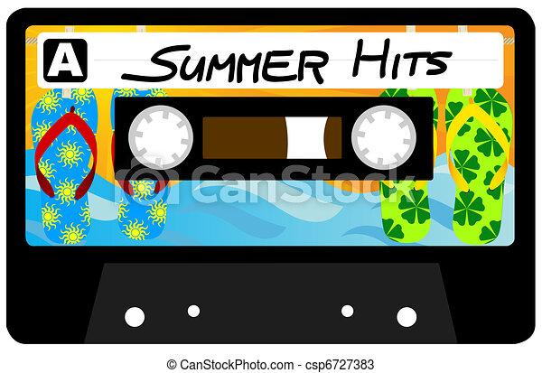 Summer Hits Tape - csp6727383