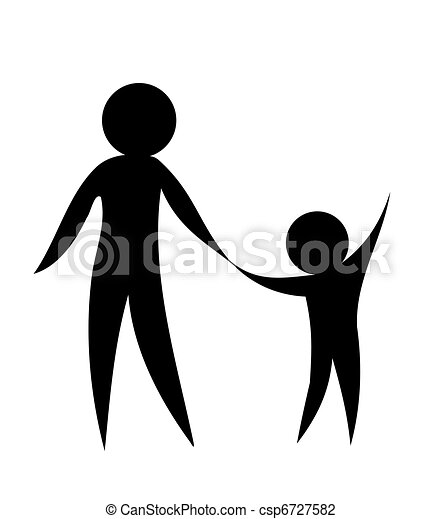 Clip Art Parent Clipart parent illustrations and stock art 36552 illustration child holding hands together symbolic vector