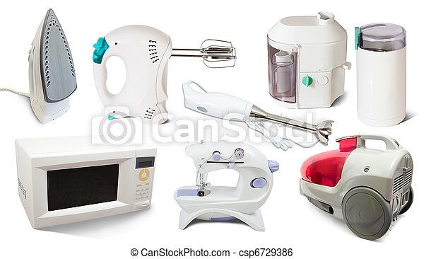 Set of  home  appliance - csp6729386
