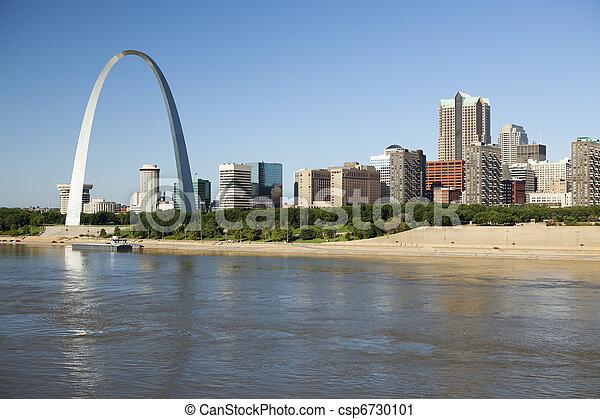 St Louis, skyline photography - csp6730101