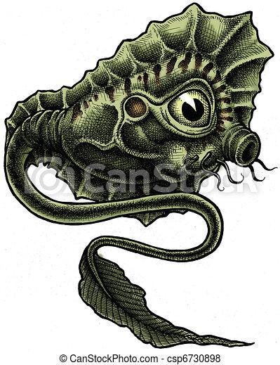 Aquatic Alien - csp6730898