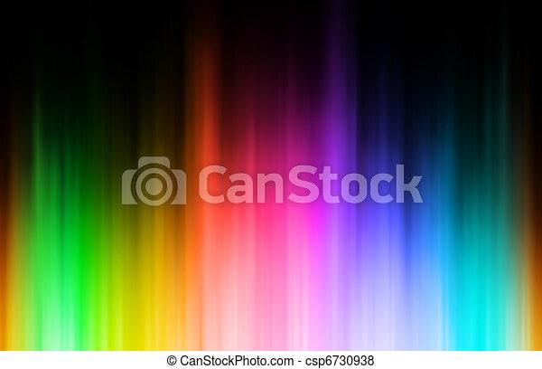 Rainbow blur - csp6730938
