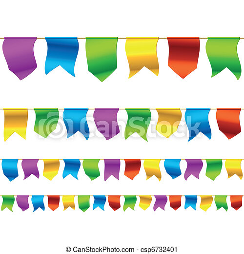 Bunting flags - csp6732401