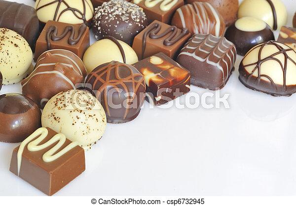 Chocolate candy variety - csp6732945