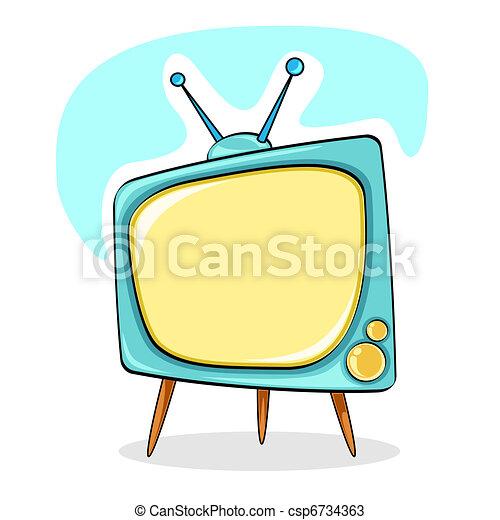 Television - csp6734363