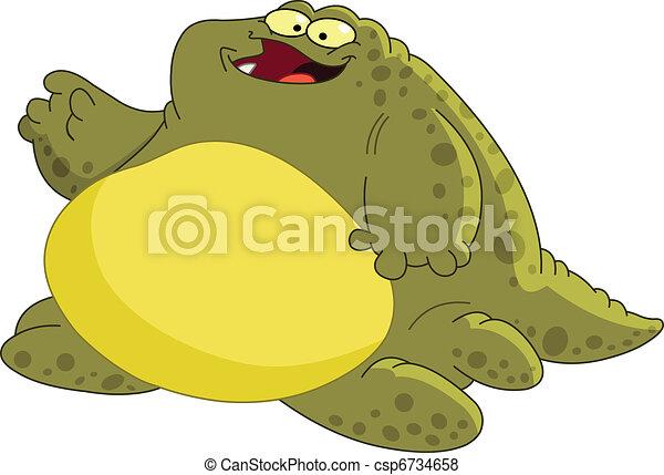 Fat monster - csp6734658