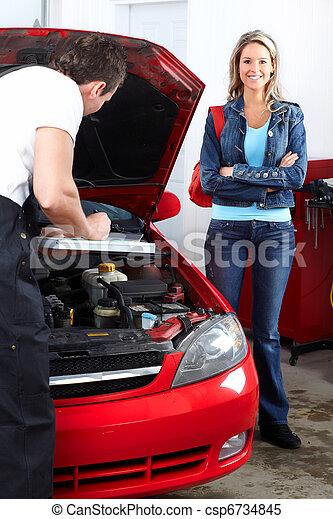 Auto mechanic - csp6734845