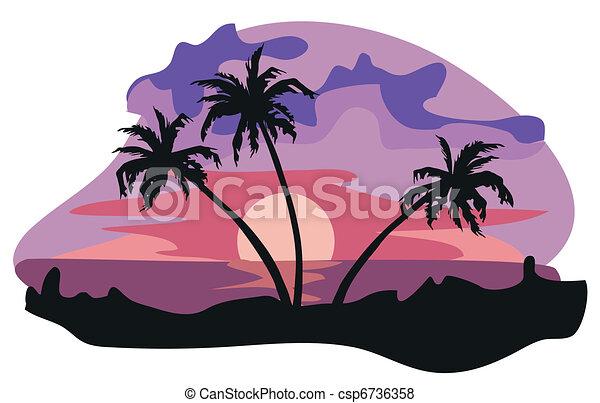 The Tropics  - csp6736358