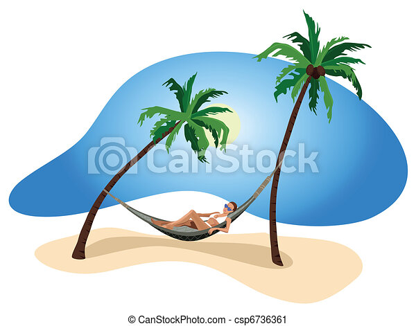 Vacation in the Tropics - csp6736361