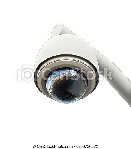 Security Camera Isolated - csp6736522
