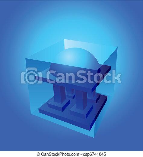 dome logo element - csp6741045