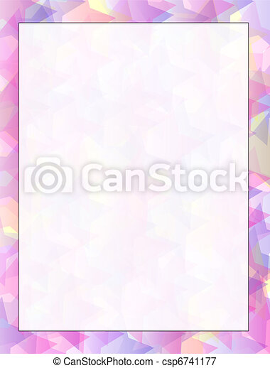Abstract pink/purple background - csp6741177