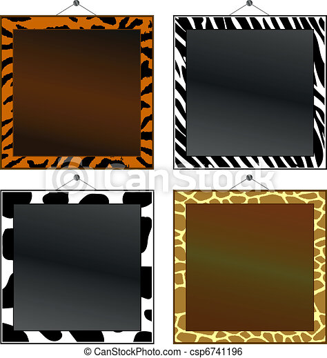 Animal print frames - csp6741196