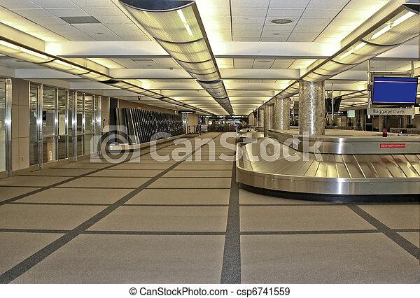 Airport Baggage Claim - csp6741559