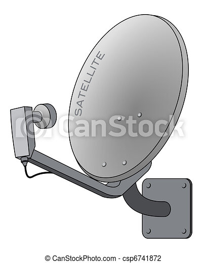 Satellite dish - csp6741872