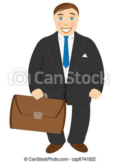 Successful businessman - csp6741922