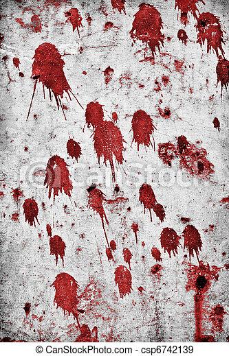 Blood Splatters - csp6742139