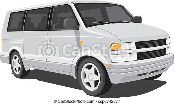 Minivan - csp6742377