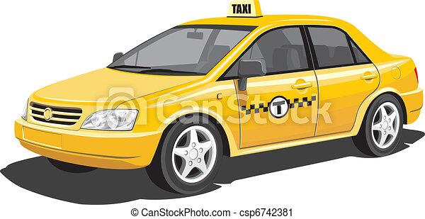 Taxi - csp6742381