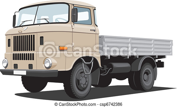 Cargo truck - csp6742386