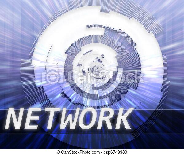 Internet broadband data technology - csp6743380