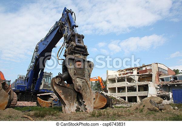 Construction demolition - csp6743831
