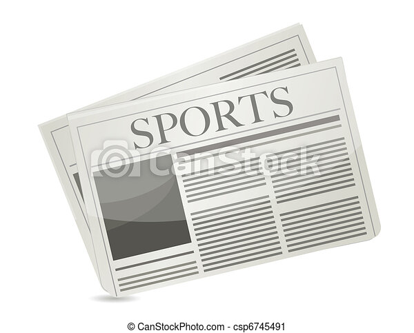 Sports newspaper - csp6745491