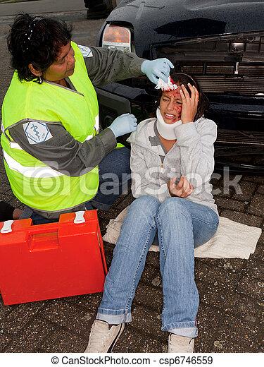 汽車, 事故 - csp6746559