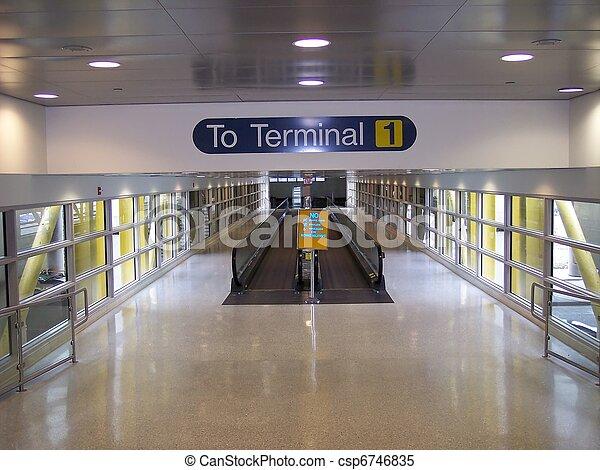 Airport Terminal - csp6746835
