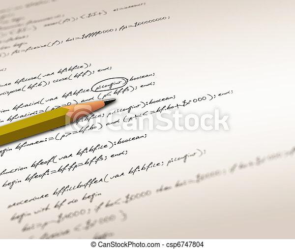 Software source codes - csp6747804