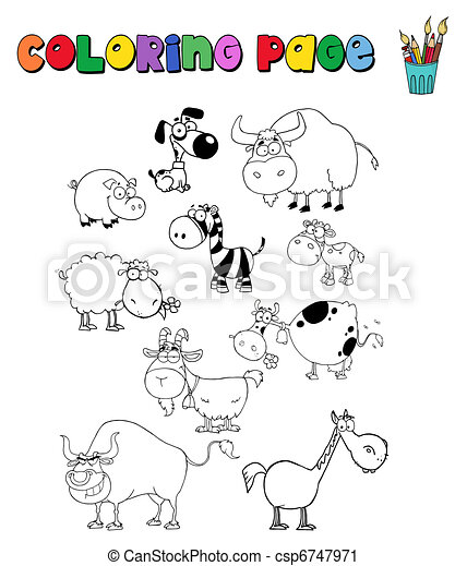 Various Animals Collection - csp6747971