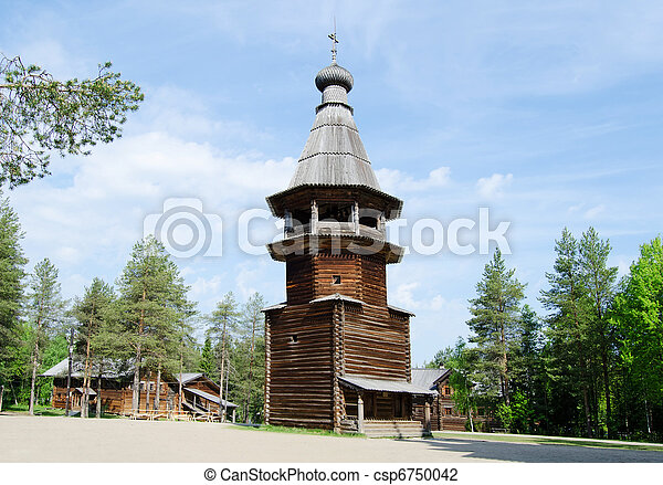 Wooden churches - csp6750042