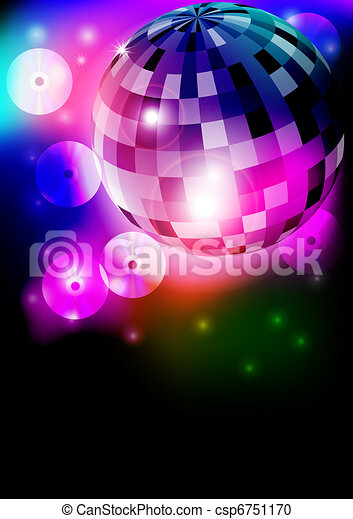 Disco Ball - csp6751170