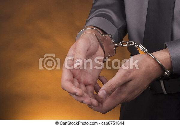 Arrest handcuffs - csp6751644
